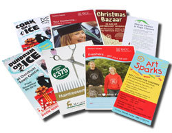 - leaflet marketing
